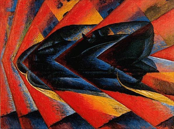 Luigi Russolo – Dynamismus eines Automobils